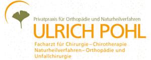 Praxis für Orthopädie und Naturheilverfahren Ulrich Pohl